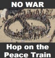 All Aboard! Hop On The Peace Train!